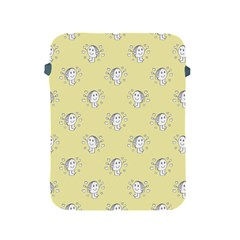 Cute Kids Drawing Motif Pattern Apple Ipad 2/3/4 Protective Soft Cases by dflcprints