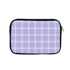 Pink Blue Plaid Apple Macbook Pro 15  Zipper Case by snowwhitegirl