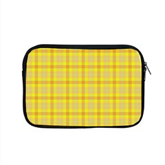 Yellow Sun Plaid Apple Macbook Pro 15  Zipper Case by snowwhitegirl