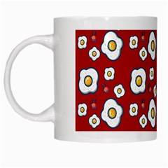 Eggs Red White Mugs