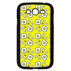 Eggs Yellow Samsung Galaxy Grand Duos I9082 Case (black) by snowwhitegirl