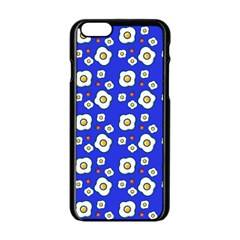 Eggs Blue Apple Iphone 6/6s Black Enamel Case by snowwhitegirl