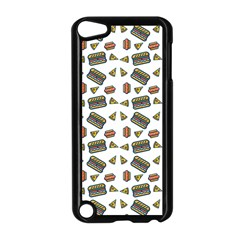 Fast Food White Apple Ipod Touch 5 Case (black) by snowwhitegirl