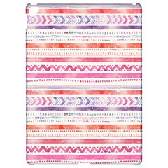 Watercolor Tribal Pattern Apple Ipad Pro 12 9   Hardshell Case by tarastyle