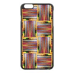 Artwork By Patrick Squares 3 Apple Iphone 6 Plus/6s Plus Black Enamel Case by ArtworkByPatrick