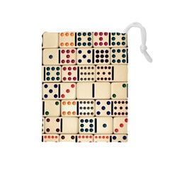Old Domino Stones Drawstring Pouches (medium)