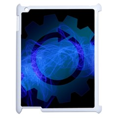 Particles Gear Circuit District Apple Ipad 2 Case (white) by Sapixe