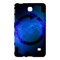 Particles Gear Circuit District Samsung Galaxy Tab 4 (8 ) Hardshell Case  by Sapixe