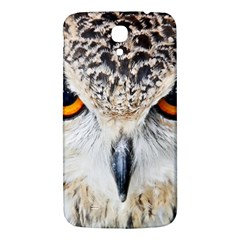 Owl Face Samsung Galaxy Mega I9200 Hardshell Back Case by Sapixe