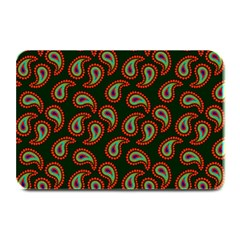 Pattern Abstract Paisley Swirls Plate Mats by Sapixe