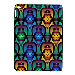 Pattern Background Bright Blue Ipad Air 2 Hardshell Cases