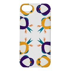 Pattern Circular Birds Apple Iphone 5s/ Se Hardshell Case by Sapixe