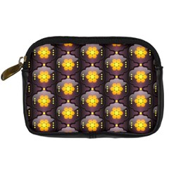 Pattern Background Yellow Bright Digital Camera Cases by Sapixe