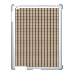 Pattern Background Stripes Karos Apple Ipad 3/4 Case (white) by Sapixe
