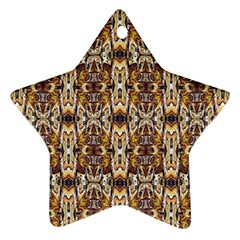 Artwork By Patrick Pattern 36 Star Ornament (two Sides) by ArtworkByPatrick