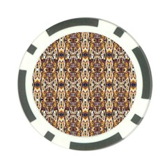 Artwork By Patrick Pattern 36 Poker Chip Card Guard (10 Pack)