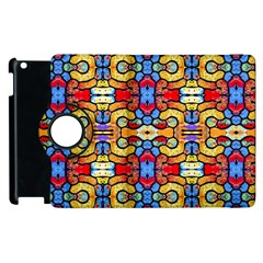 Artwork By Patrick Pattern 37 Apple Ipad 3/4 Flip 360 Case by ArtworkByPatrick