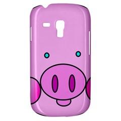 Pink Pig Christmas Xmas Stuffed Animal Galaxy S3 Mini by Sapixe