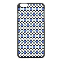Blue Jess Apple Iphone 6 Plus/6s Plus Black Enamel Case by jumpercat
