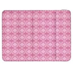 Pattern Pink Grid Pattern Samsung Galaxy Tab 7  P1000 Flip Case by Sapixe