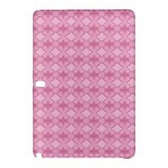 Pattern Pink Grid Pattern Samsung Galaxy Tab Pro 12 2 Hardshell Case by Sapixe