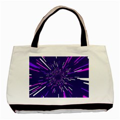 Space Trip 2 Basic Tote Bag by jumpercat