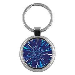 Space Trip 3 Key Chains (round)  by jumpercat