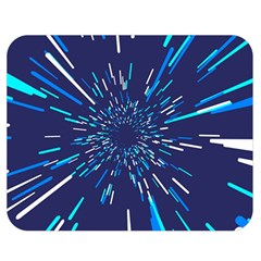Space Trip 3 Double Sided Flano Blanket (medium)  by jumpercat