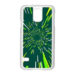Space Trip 5 Samsung Galaxy S5 Case (white) by jumpercat