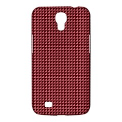 Red Triangulate Samsung Galaxy Mega 6 3  I9200 Hardshell Case by jumpercat