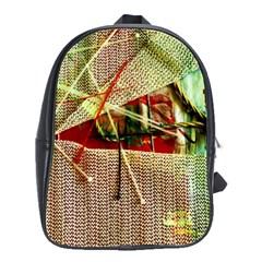 Hidden Strings Of Purity 12 School Bag (large) by bestdesignintheworld
