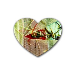 Hidden Strings Of Purity 12 Heart Coaster (4 Pack)  by bestdesignintheworld