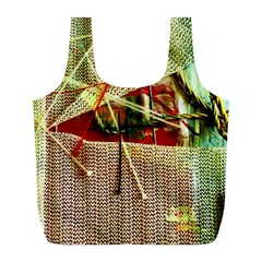 Hidden Strings Of Purity 12 Full Print Recycle Bags (l)  by bestdesignintheworld