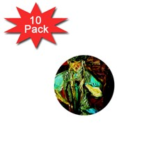 Girl In A Bar 1  Mini Buttons (10 Pack)