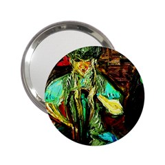 Girl In A Bar 2 25  Handbag Mirrors