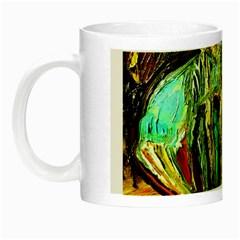 Girl In A Bar Night Luminous Mugs