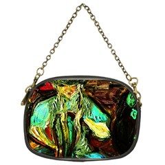 Girl In A Bar Chain Purses (one Side)