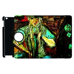Girl In A Bar Apple Ipad 3/4 Flip 360 Case