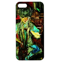 Girl In A Bar Apple Iphone 5 Hardshell Case With Stand