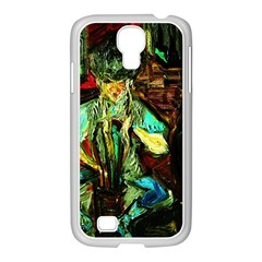Girl In A Bar Samsung Galaxy S4 I9500/ I9505 Case (white)