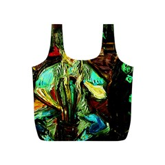 Girl In A Bar Full Print Recycle Bags (s)