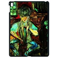 Girl In A Bar Apple Ipad Pro 9 7   Black Seamless Case by bestdesignintheworld