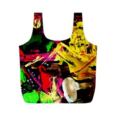 Spooky Attick 1 Full Print Recycle Bags (m)