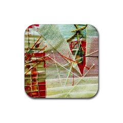 Hidden Strings Of Purity 1 Rubber Coaster (square)  by bestdesignintheworld