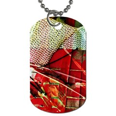 Hidden Strings Of Puity 14 Dog Tag (one Side) by bestdesignintheworld
