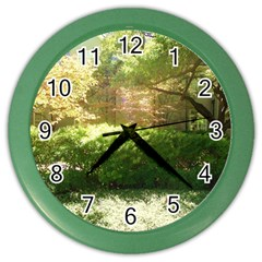 Highland Park 19 Color Wall Clocks by bestdesignintheworld