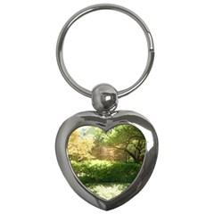 Highland Park 19 Key Chains (heart)  by bestdesignintheworld