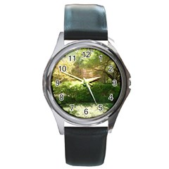 Highland Park 19 Round Metal Watch