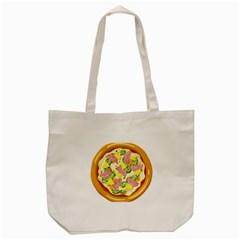 Pizza Clip Art Tote Bag (cream) by Sapixe