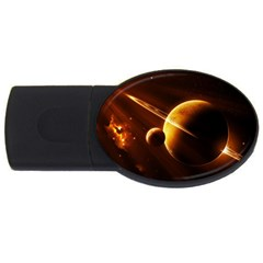 Planets Space Usb Flash Drive Oval (4 Gb)